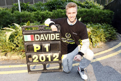 Davide Valsecchi celebrates his championship