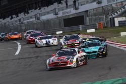 #38 All-Inkl.com Münnich Motorsport Mercedes-Benz SLS AMG GT3: Marc Basseng, Marcus Winkelhock