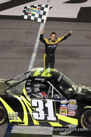 Race winner James Buescher