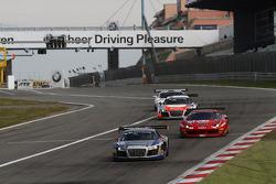 #115 Sainteloc Racing Audi R8 LMS: Jerome Demay, Dino Lunardi
