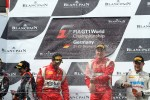 Podium: winners Filip Salaquarda, Toni Vilander