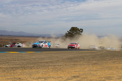 Trouble at start of race 1