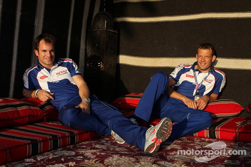 Nicolas Lapierre and Alexander Wurz
