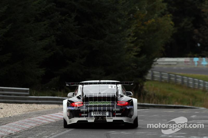 #10 Manthey Racing Porsche 911 GT3R: Jochen Krumbach, Timo Bernhard, Romain Dumas