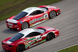 #8 Ferrari of Ft Lauderdale 458TP, #64 Ferrari of Ft Lauderdale 458CS: Frank Fusillo