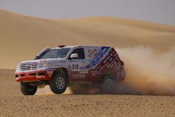 #318 Toyota: Nicolas Gibon, Akira Miura