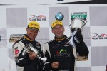 Winners Jayson Clunie and Pierre Kleinubing