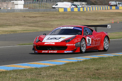 #28 Sport Garage Ferrari 458 Italia: Alban Dunod; Arno Santamato