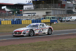 #17 Sébastien Loeb Racing Mercedes AMG SLS: Gilles Vannelet; Frédéric Gabillon