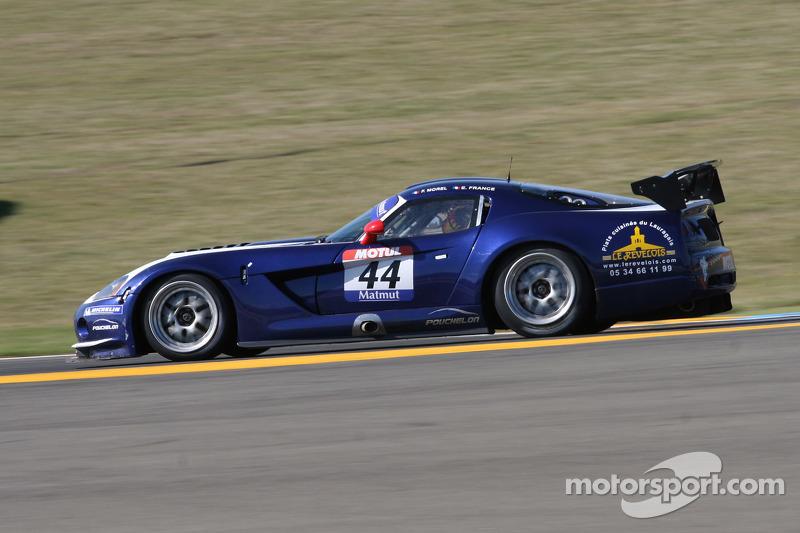 #44 Team Pouchelon Dodge Viper Coupé CC S2: Franck Morel; Erwin France
