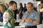 Kasey Kahne and Brett Bodine