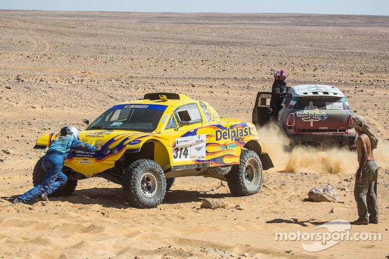 #314 MD Rallye Sport Buggy MD: Regis Delahaye, Alexandre Winocq