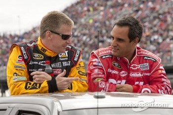 Jeff Burton and Juan Pablo Montoya