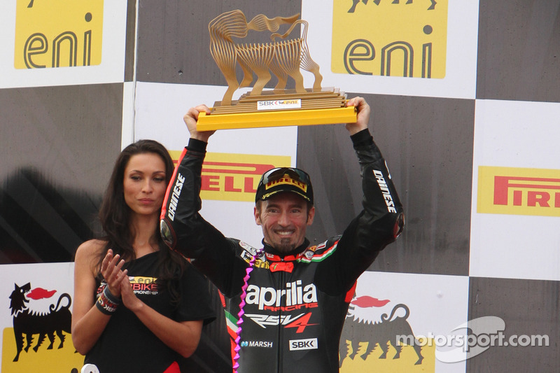 Max Biaggi crowned 2012 champion