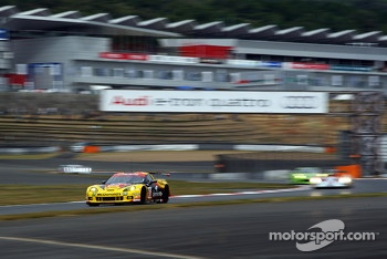 #50 Larbre Competition Chevrolet Corvette C6-ZR1: Patrick Bornhauser, Julien Canal, Fernando Rees