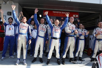 Toyota Racing happy with pole position