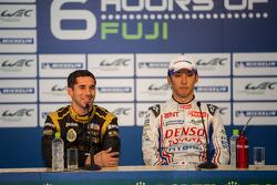 Pole winner Kazuki Nakajima and quickest privateer Neel Jani
