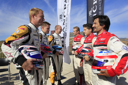2012 Championship contenders Markus Palttala, Bas Leinders, Maxime Martin and Christopher Haase, Christopher Mies, Stéphane Ortelli
