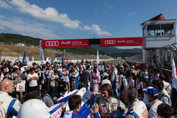 Intense atmosphere around #7 Toyota TS030