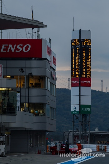 Toyota holding narrow margin as race end nears