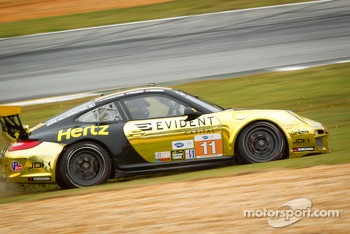 #11 JDX Racing Porsche 911 GT3 Cup: Chris Cumming, Michael Valiante goes off-track