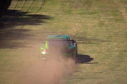 #34 Green Hornet Racing Porsche 911 GT3 Cup: Peter LeSaffre, Damien Faulkner, Brian Wong off the track