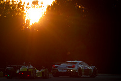 #01 Extreme Speed Motorsports Ferrari F458 Italia: Scott Sharp, Johannes van Overbeek, Toni Vilander, #8 Merchant Services Racing Oreca FLM09: Kyle Marcelli, Matt Downs, Chapman Ducote
