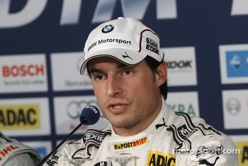 Race winner and 2012 champion Bruno Spengler, BMW Team Schnitzer BMW M3 DTM
