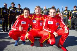 Photoshoot: #30 NGT Motorsport Porsche 911 GT3 Cup: Henrique Cisneros, Mario Farnbacher, Jakub Giermaziak