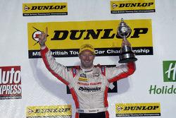 2012 champion Gordon Shedden celebrates