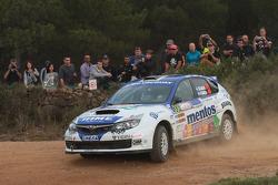 Marco Ligato and Ruben Garcia, Subaru Impreza WRX Sti
