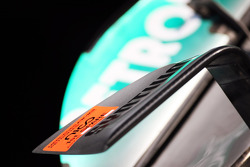 Mercedes AMG F1 W03 of Nico Rosberg, Mercedes AMG F1 front wing detail
