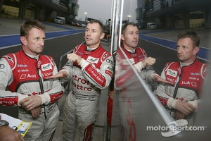 Allan McNish and Tom Kristensen