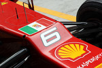 Ferrari of Felipe Massa, Ferrari with the flag of Italian navy in support for two Italian sailors charged with killing Indian fishermen