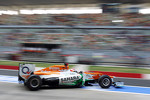 Paul di Resta, Sahara Force India leaves the pits