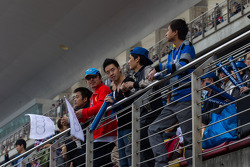 Spectators at Shanghai circuit