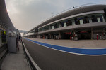 Seemingly quiet pit lane during 6 Hours of Shanghai