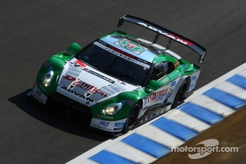 #24 D'station Nissan GT-R: Bjorn Wirdheim, Hironobu Yasuda