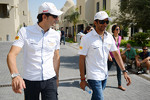 Pedro de la Rosa, HRT Formula 1 Team with team mate Narain Karthikeyan, Hispania Racing F1 Team 
