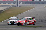 Tom Chilton, Ford Focus S2000 TC, Team Aon and Alexey Dudukalo, SEAT Leon WTCC, Lukoil Racing Team