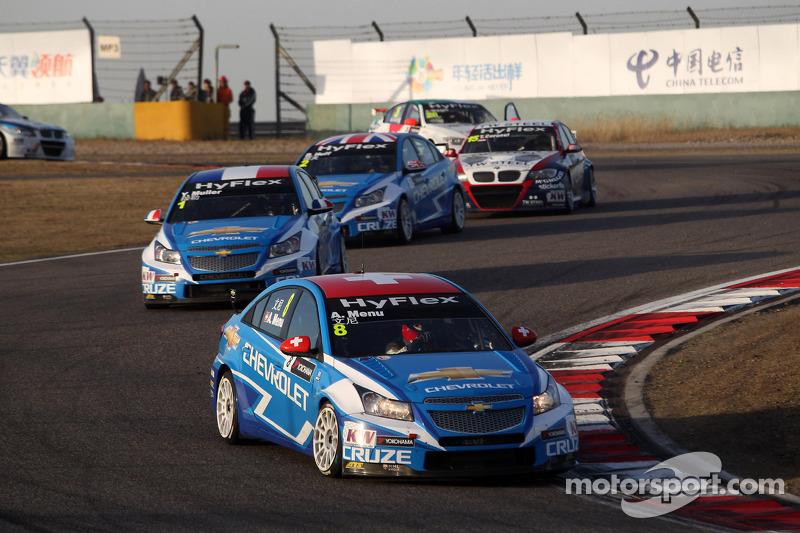 Alain Menu, Chevrolet Cruze 1.6T, Chevrolet