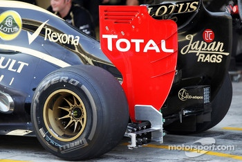 Sensor equipment on the Lotus F1