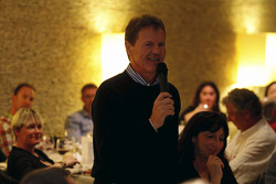 Malcolm Wilson speaks at Ford farewell dinner