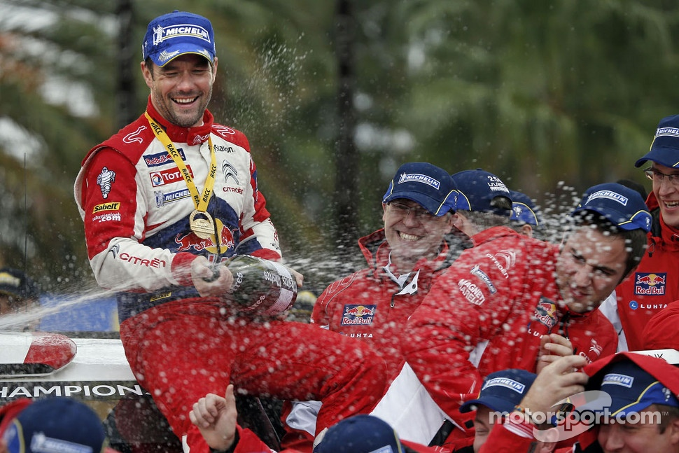 Winner Sébastien Loeb, Citroën Total World Rally Team