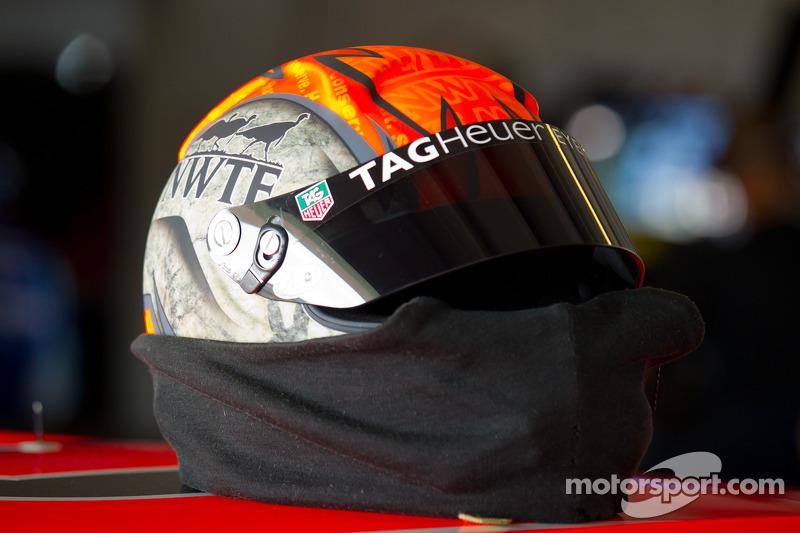 Helmet of Austin Dillon, Richard Childress Racing Chevrolet