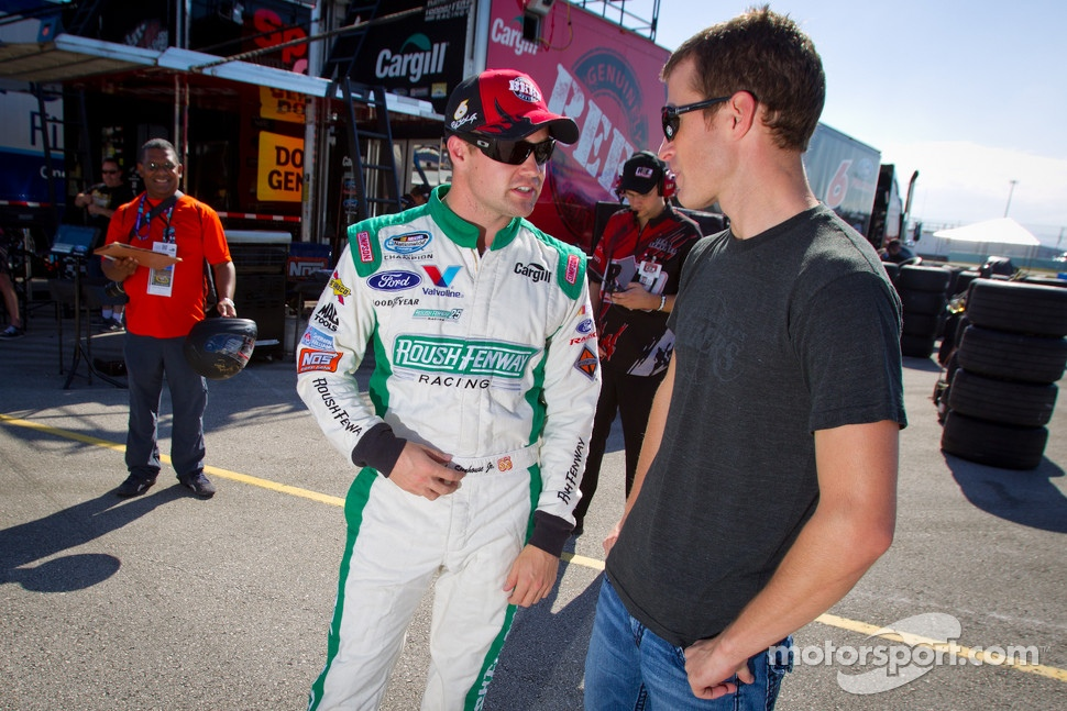 Ricky Stenhouse Jr., Roush Fenway Ford with Kasey Kahne