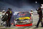 Ty Dillon, Richard Childress Racing Chevrolet in the pit after his crash
