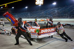 Pit stop for Miguel Paludo, Turner Motorsports Chevrolet
