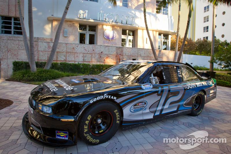 NASCAR Nationwide Series show car