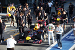 Red Bull Racing RB8s taken to the team photograph